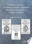 Estudio de autoría de «Los Trabajos de Persiles y Sigismunda», «Philosophía antigua poética» y «Novelas ejemplares».