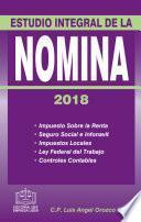 ESTUDIO INTEGRAL DE LA NÓMINA 2018