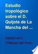 Estudio tropológico sobre el D. Quijote de La Mancha del sin par Cervantes