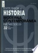 Estudios de historia moderna y contemporánea de México