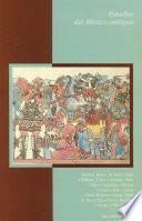Estudios del México antiguo