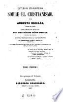 Estudios filosóficos sobre el cristianismo ..., 1-2
