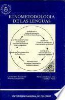 Etnometodología de las lenguas