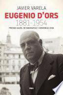Eugenio d'Ors 1881-1954