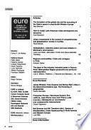 EURE. Revista latinoamericana de estudios urbano regionales