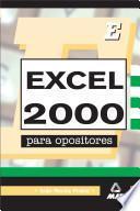 Excel 2000 Para Opositores. E-book