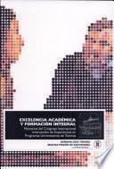 Excelencia académica y formación integral