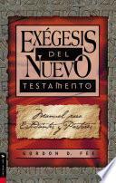 Exégesis del Nuevo Testamento