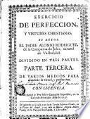 Exercicio de Perfección y Virtudes Christianas, 3