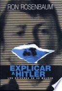 Explicar a Hitler