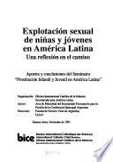 Explotación sexual de niñas y jóvenes en América Latina