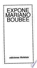 Expone Mariano Boubée