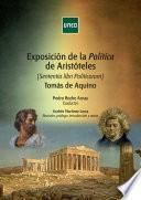 Exposición de la Política de Aristóteles [Sententia libri Politicorum] TOMÁS DE AQUINO