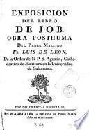 Exposición de libro de Job