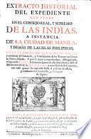 Extracto ... sobre la forma en que se ha de hacer y continuar el comercio y contratacion de los texidos de China en Nueva-España, etc