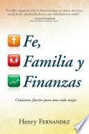 Fe, familia y finanzas
