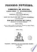 Febrero novisimo ó, Librería de jueces, abogados y escribanos, 9