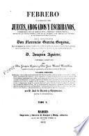 Febrero o librería de jueces abogados y escribanos...,5