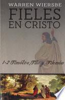 Fieles en Cristo