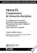 Francés. Complementos de formación disciplinar