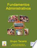 Fundamentos Administrativos Segundo SemestreTacaná