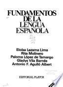 Fundamentos de la lengua española