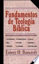 Fundamentos de teologia biblica