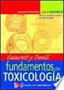 Fundamentos de toxicología