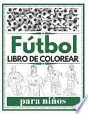 Fútbol Libro de Colorear para Niños