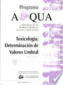 G/a. Toxicología