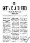 Gaceta de la República
