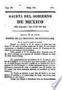 Gaceta del gobierno de México