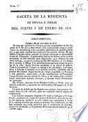 Gazeta de la Regencia de España e Indias