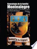 Genealogia de la familia Montealegre