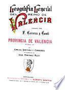 Geografía general del Reino de Valencia: Provicia de Castellon