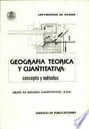 Geografía teórica y cuantitativa