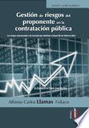 Gestión de riesgos del proponente en la contratación pública