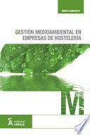 Gestión medioambiental en empresas de hostelería