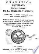 Gramatica castellana