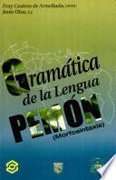 Gramatica de la Lengua Pemon (Morfosintaxis)