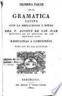 Gramatica Latina con la explicación y notas