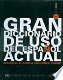 Gran diccionario de uso del Español actual