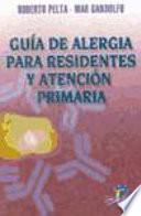 Guía de alergia para residentes y Atención Primaria