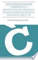 Guía Investigación Clínica 2013