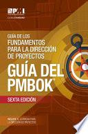 Guide to the Project Management Body of Knowledge (PMBOK® Guide)–Sixth Edition (SPANISH)