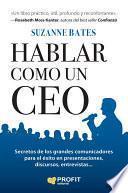 Hablar como un CEO