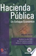 Hacienda Pública. Un enfoque económico