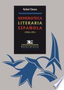 Hemeroteca literaria española