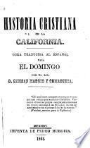 Historia Cristiana de la California