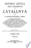 Historia crítica, civil y esglesiàstica de Catalunya: Comtes-reys
